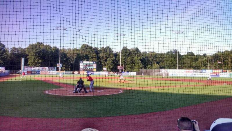 Seating view for Dutchess Stadium Section 105 Row C Seat 3