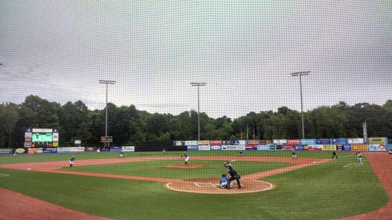 Seating view for Dutchess Stadium Section 106 Row F Seat 1