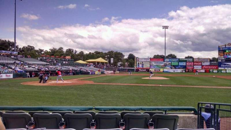 Seating view for Arm & Hammer Park Section 107 Row D Seat 9