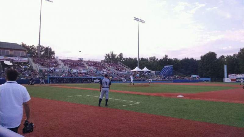 Seating view for Dutchess Stadium Section 101B Row A Seat 12