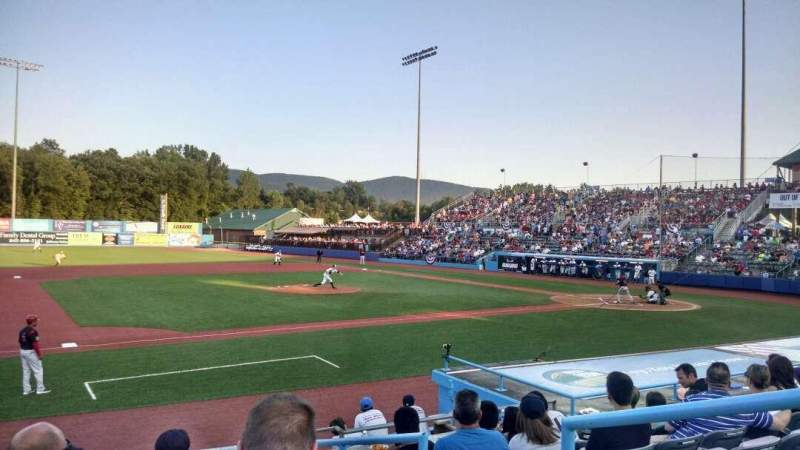 Seating view for Dutchess Stadium Section 111 Row J Seat 22
