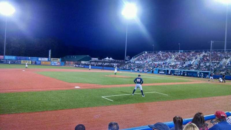 Seating view for Dutchess Stadium Section 111A Row D Seat 12