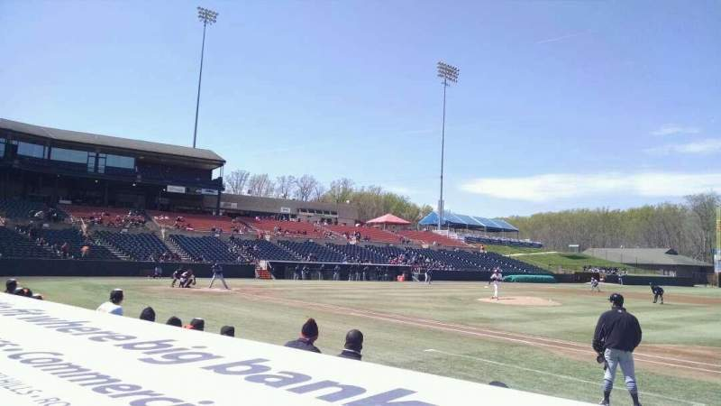 Seating view for Prince George's Stadium Section 115 Row C Seat 9