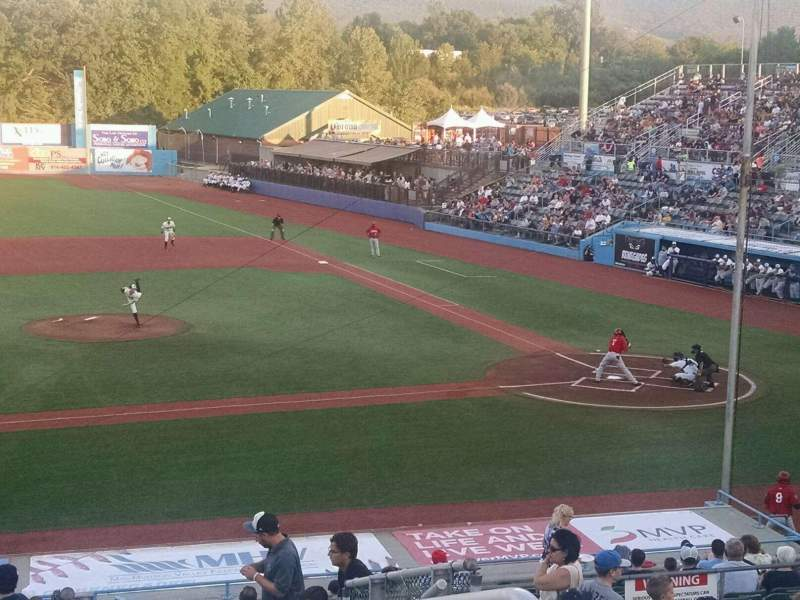 Seating view for Dutchess Stadium Section 306 Row JJ Seat 20