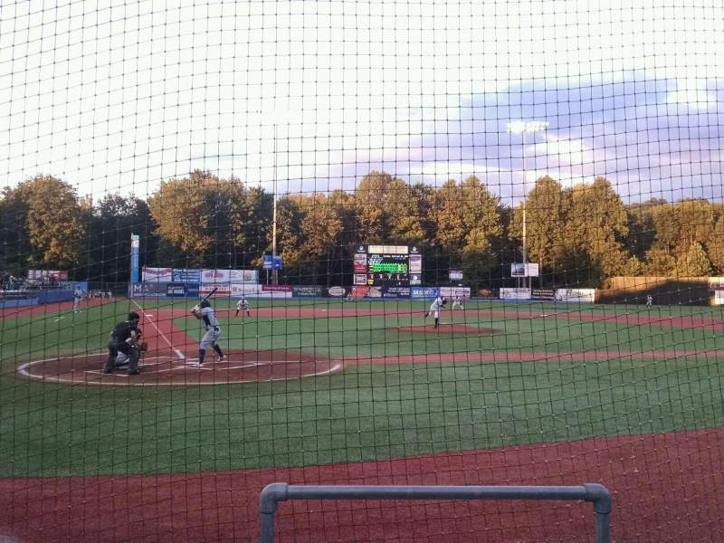 Seating view for Dutchess Stadium Section 105 Row C Seat 13