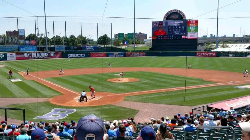 Coca-Cola Field, section: 104, row: AA, seat: 1