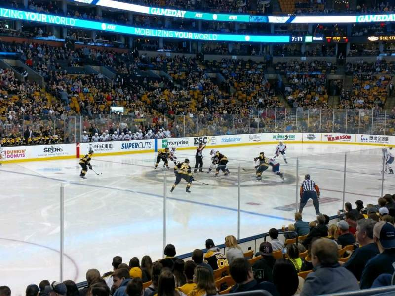 TD Garden, section: Club 115, row: 12, seat: 5