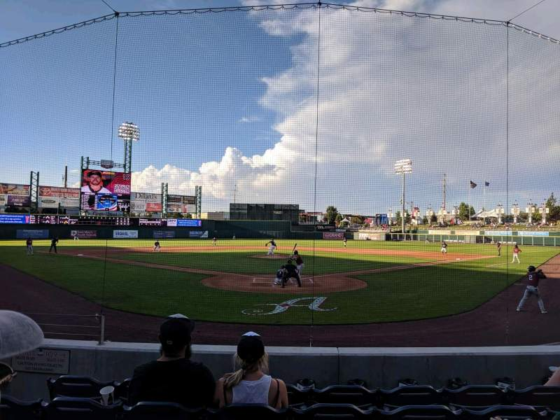 Seating view for Greater Nevada Field Section 109 Row 11 Seat 5
