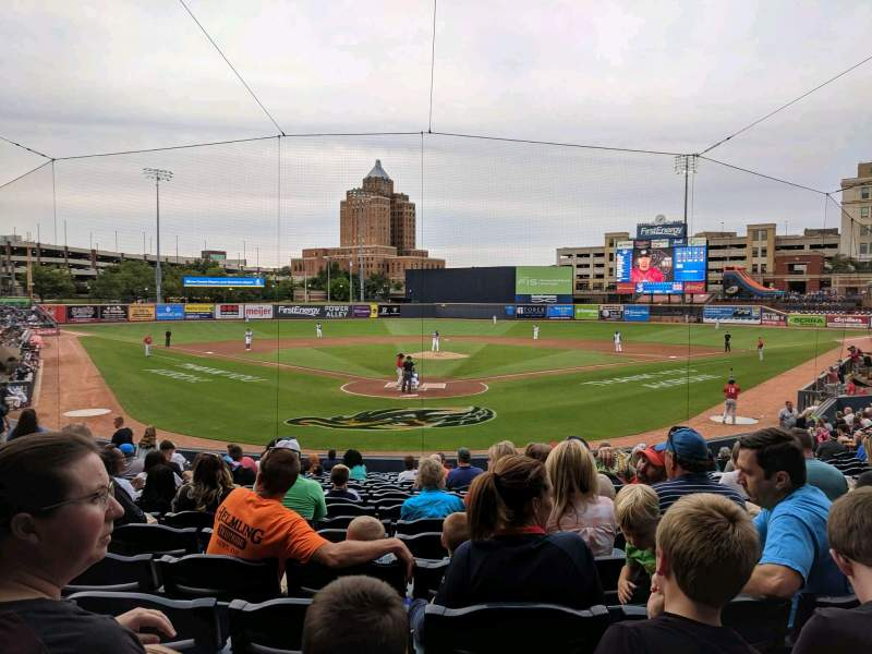 Seating view for Canal Park Section 13 Row T Seat 4