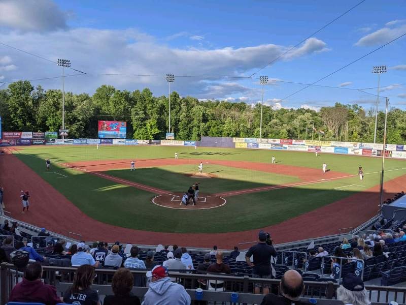 Seating view for Dutchess Stadium Section 203 Row FF Seat 7