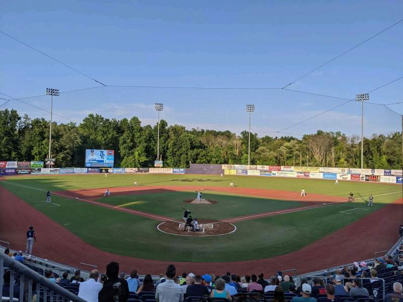 Seating view for Dutchess Stadium Section 203 Row DD Seat 1