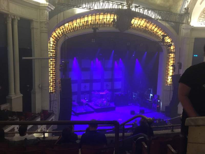 Seating view for Orpheum Theatre (Boston) Section BalC Row F Seat 1