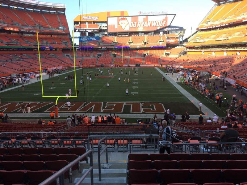 Seating view for FirstEnergy Stadium Section 148 Row 30 Seat 1