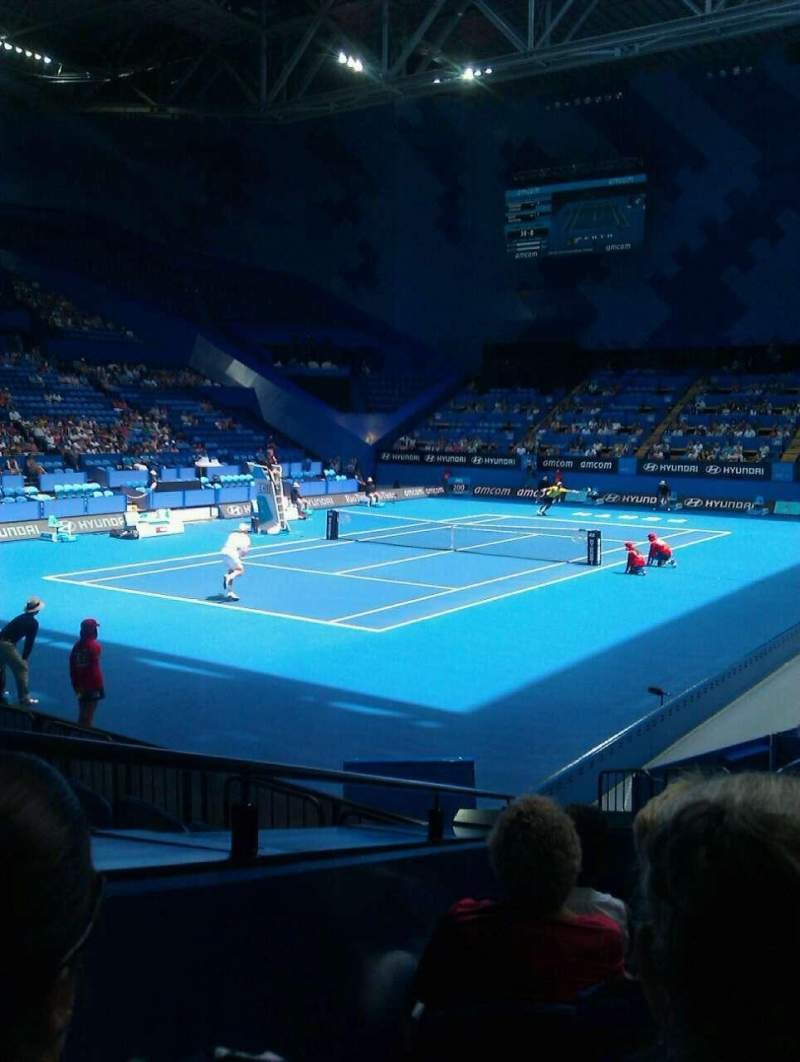 Seating view for Perth Arena Section 207 Row f Seat 9