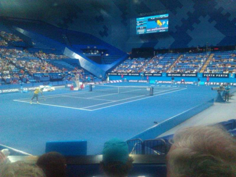 Seating view for Perth Arena Section 207 Row C Seat 4