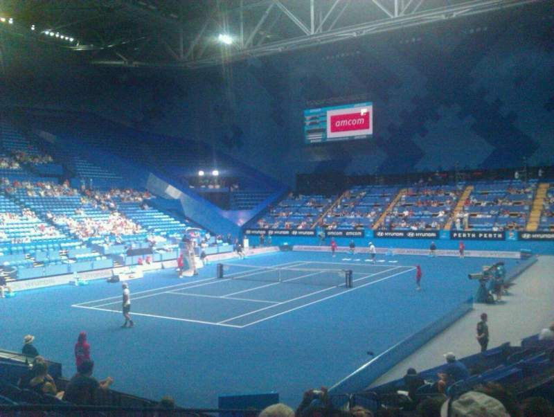 Seating view for Perth Arena Section 207 Row H Seat 10