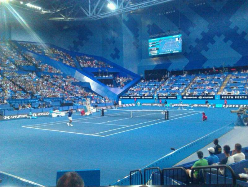 Seating view for Perth Arena Section 207 Row C Seat 04