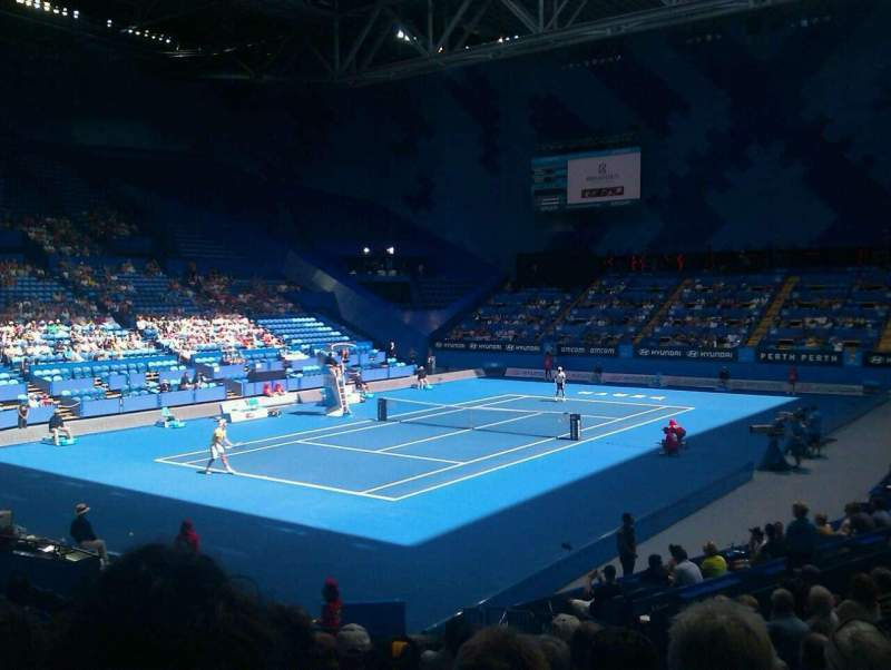 Seating view for Perth Arena Section 207 Row k Seat 8