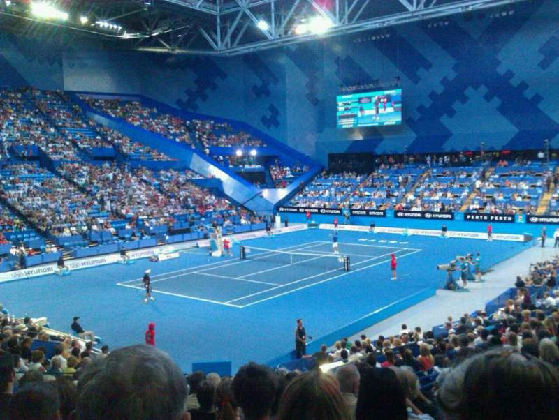 Seating view for Perth Arena Section 207 Row Q Seat 7