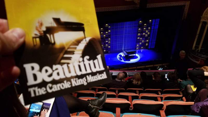 Seating view for National Theatre (DC) Section Balcony L Row H Seat 15