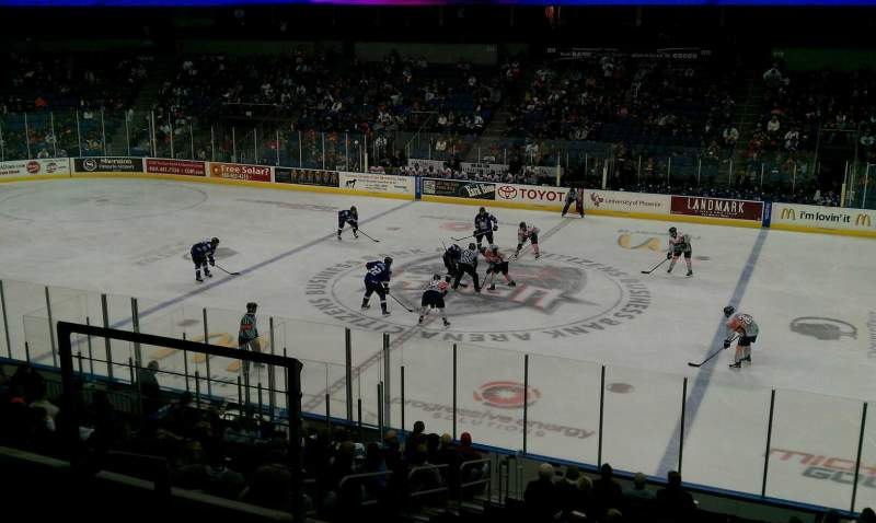 Citizens Business Bank Arena, section: stec3, row: b, seat: 6