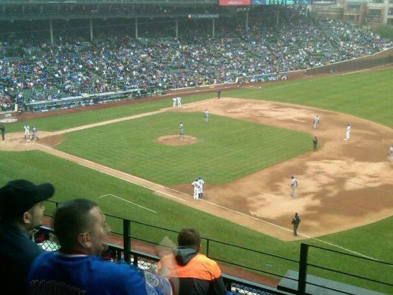 Seating view for Wrigley Field Section 433 Row 5 Seat 1