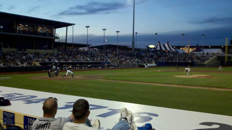Seating view for Werner Park Section 108 Row 9 Seat 11