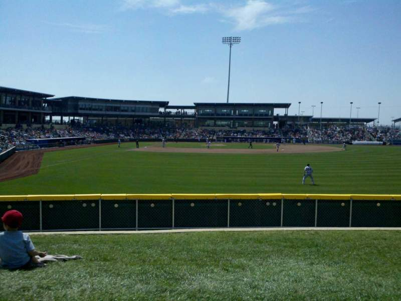 Seating view for Werner Park Section McDonalds Berm