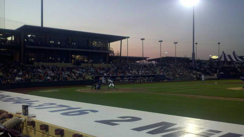 Seating view for Werner Park Section 108 Row 8 Seat 6