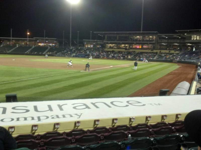 Werner Park, section: 123, row: 12, seat: 15