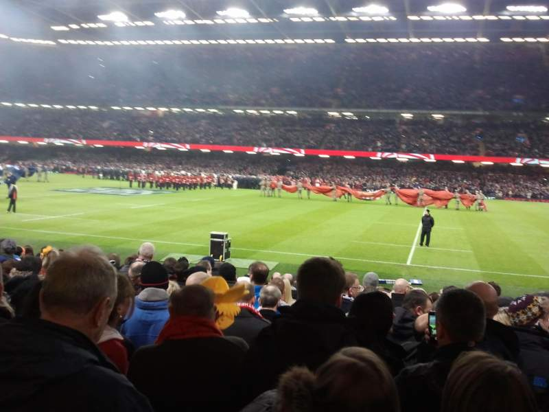 Seating view for Principality Stadium Section L28 Row 15 Seat 14