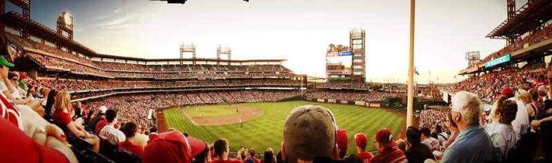 Seating view for Citizens Bank Park Section 202 Row 8 Seat 16