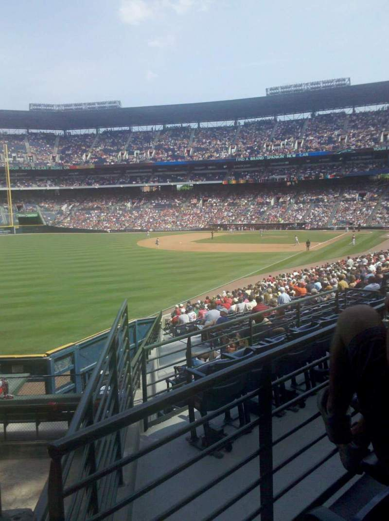 Seating view for Turner Field Section 228 Row 2 Seat 228