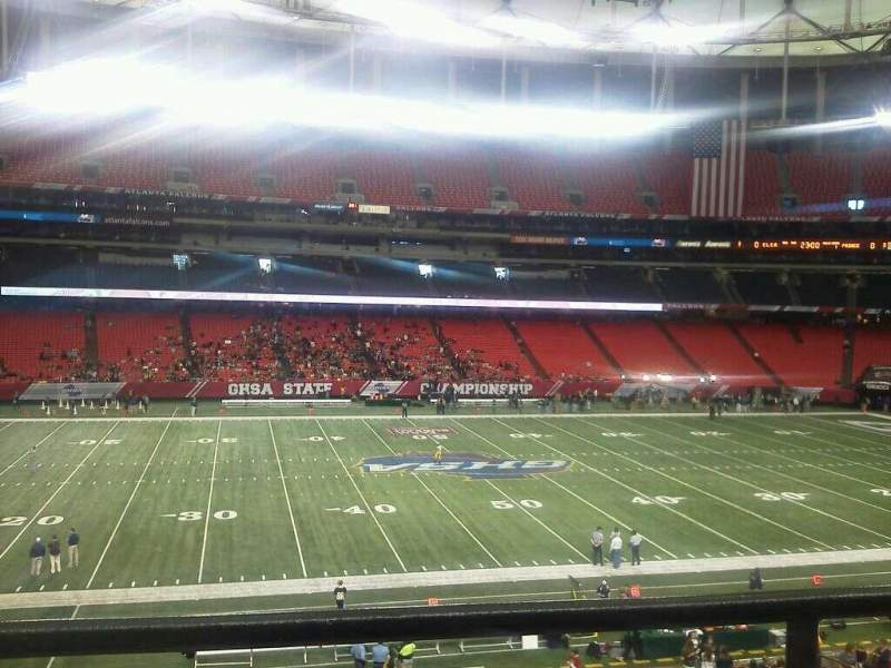 Seating view for Georgia Dome