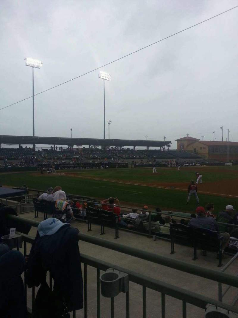 Seating view for Osceola County Stadium Section 218 Row 10 Seat 2