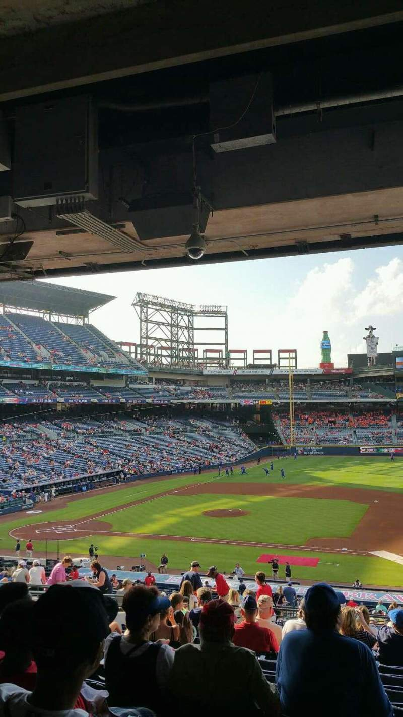 Seating view for Turner Field Section 215L Row 14 Seat 104