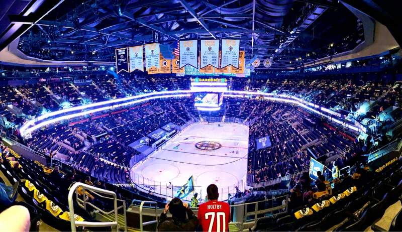 Seating view for TD Garden Section BAL 322 Row 12 Seat 22