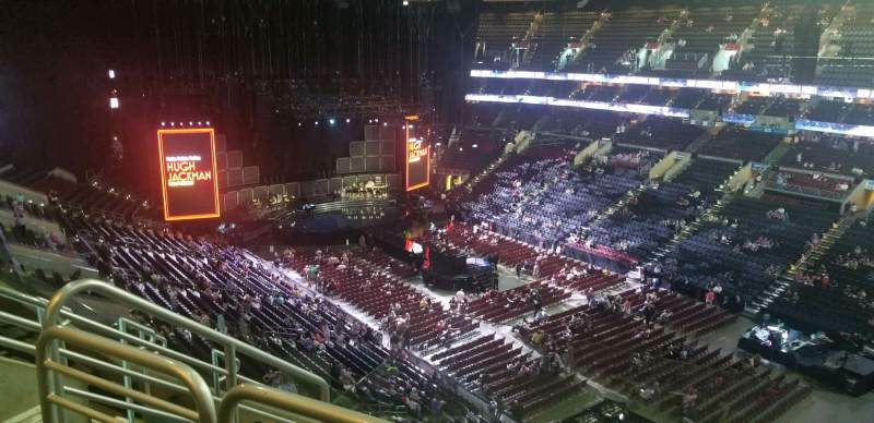 Seating view for Wells Fargo Center Section 204A Row 6 Seat 5