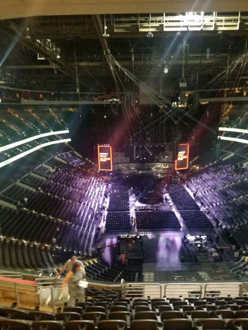 Seating view for Wells Fargo Center Section 207A Row 14 Seat 6
