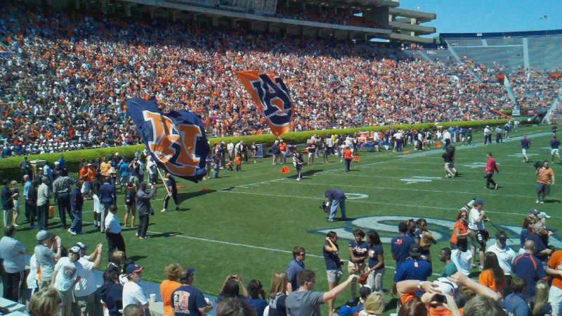 Seating view for Jordan-Hare Stadium Section 17