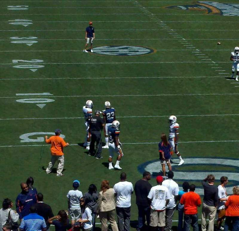 Seating view for Jordan-Hare Stadium Section 16