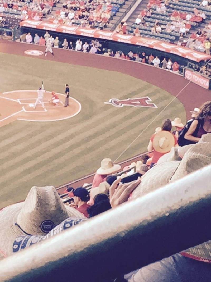 Seating view for Angel Stadium Section V509 Row N Seat 18