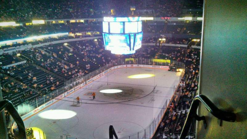 Seating view for Bridgestone Arena Section 320 Row F Seat 22