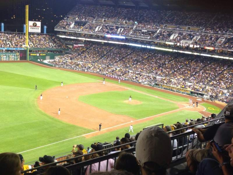 Seating view for PNC Park Section 329 Row K Seat 16