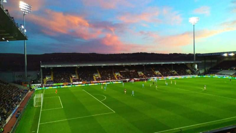 Seating view for Turf Moor Section 9 Row G Seat 232