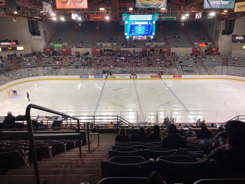 Seating view for Sullivan Arena Section 212 Row 11 Seat 13