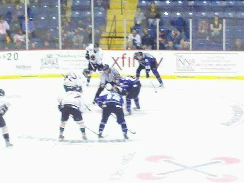 Seating view for Santander Arena Section 107 Row n Seat 1