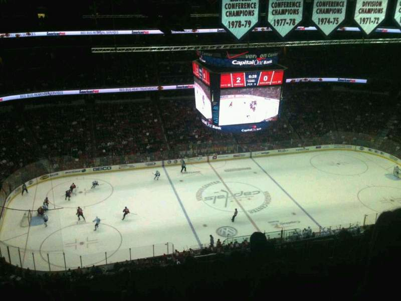 Seating view for Verizon Center Section 432 Row P Seat 15