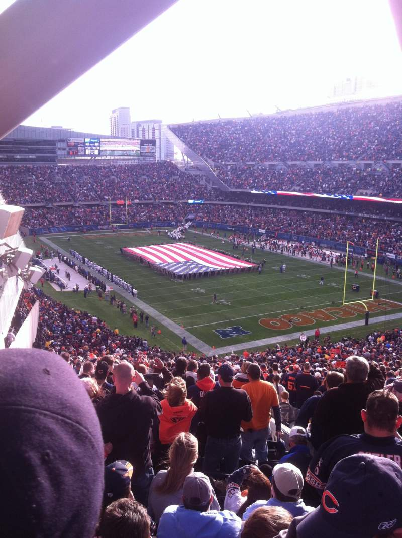 Seating view for Soldier Field Section 356 Row 14 Seat 4
