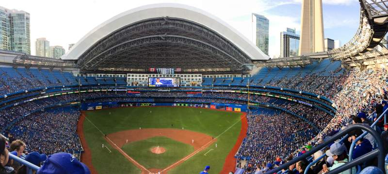 Seating view for Rogers Centre Section 524AL Row 18 Seat 101-102